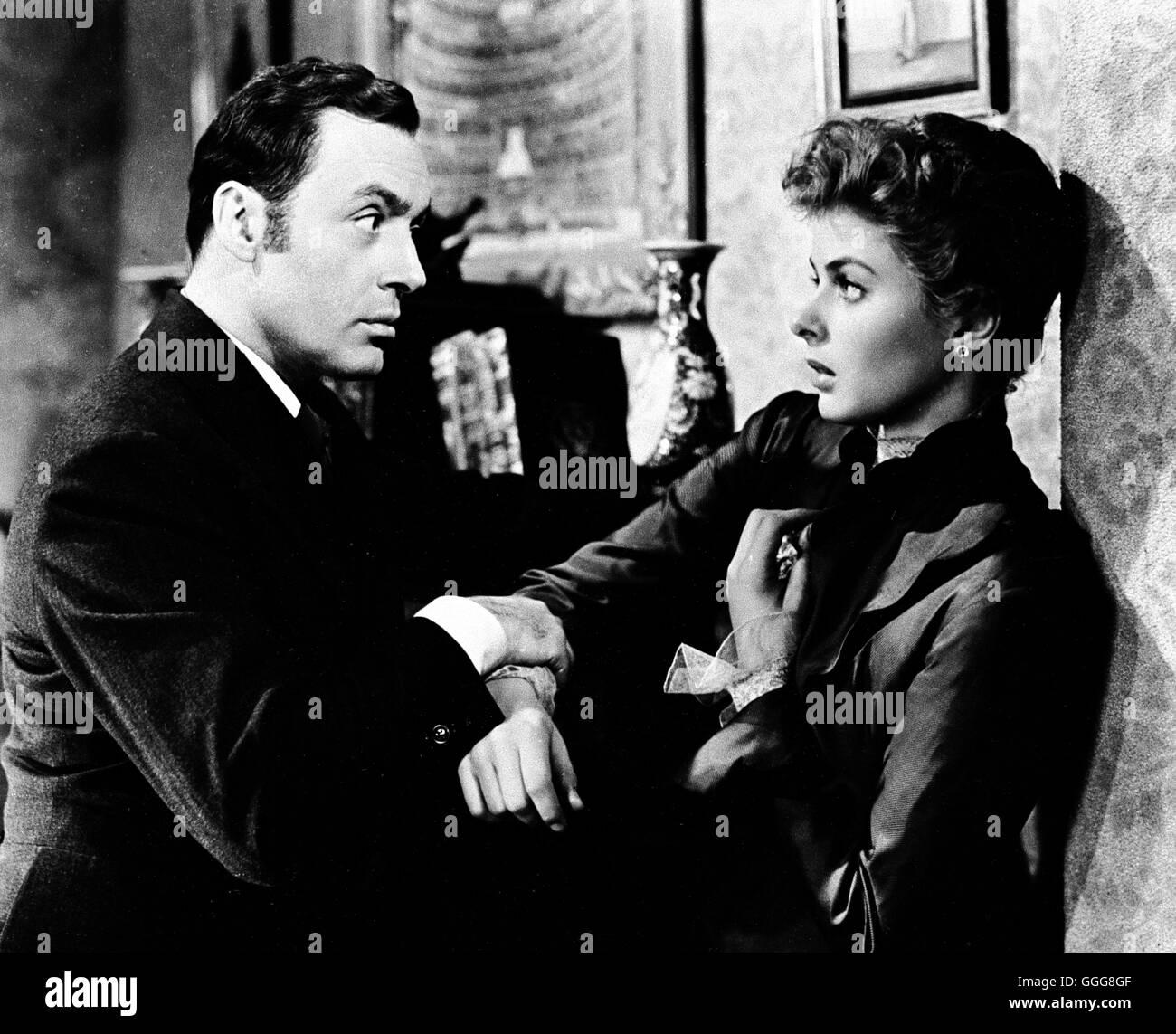 DAS HAUS DER LADY ALQUIST / Gaslight USA 1944 / George Cukor CHARLES BOYER, INGRID BERGMAN, 'Gaslight', 1944. Regie: George Cukor aka. Gaslight Stock Photo