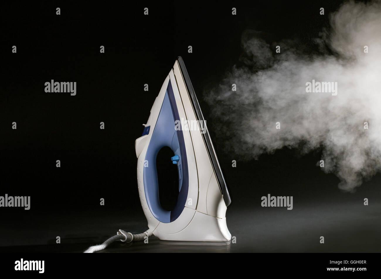 Steam iron - Stock Image