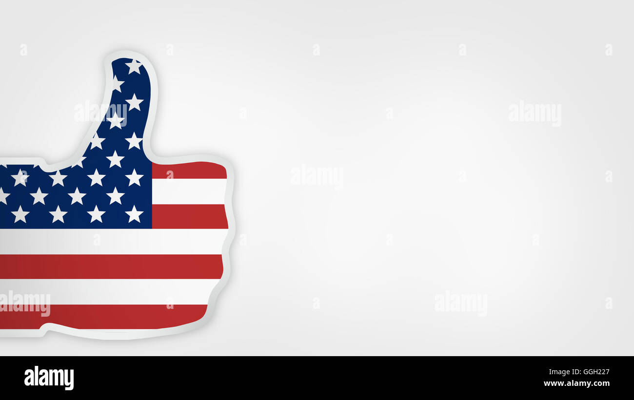 Great America Big Thumbs Up Stock Photos Great America Big Thumbs