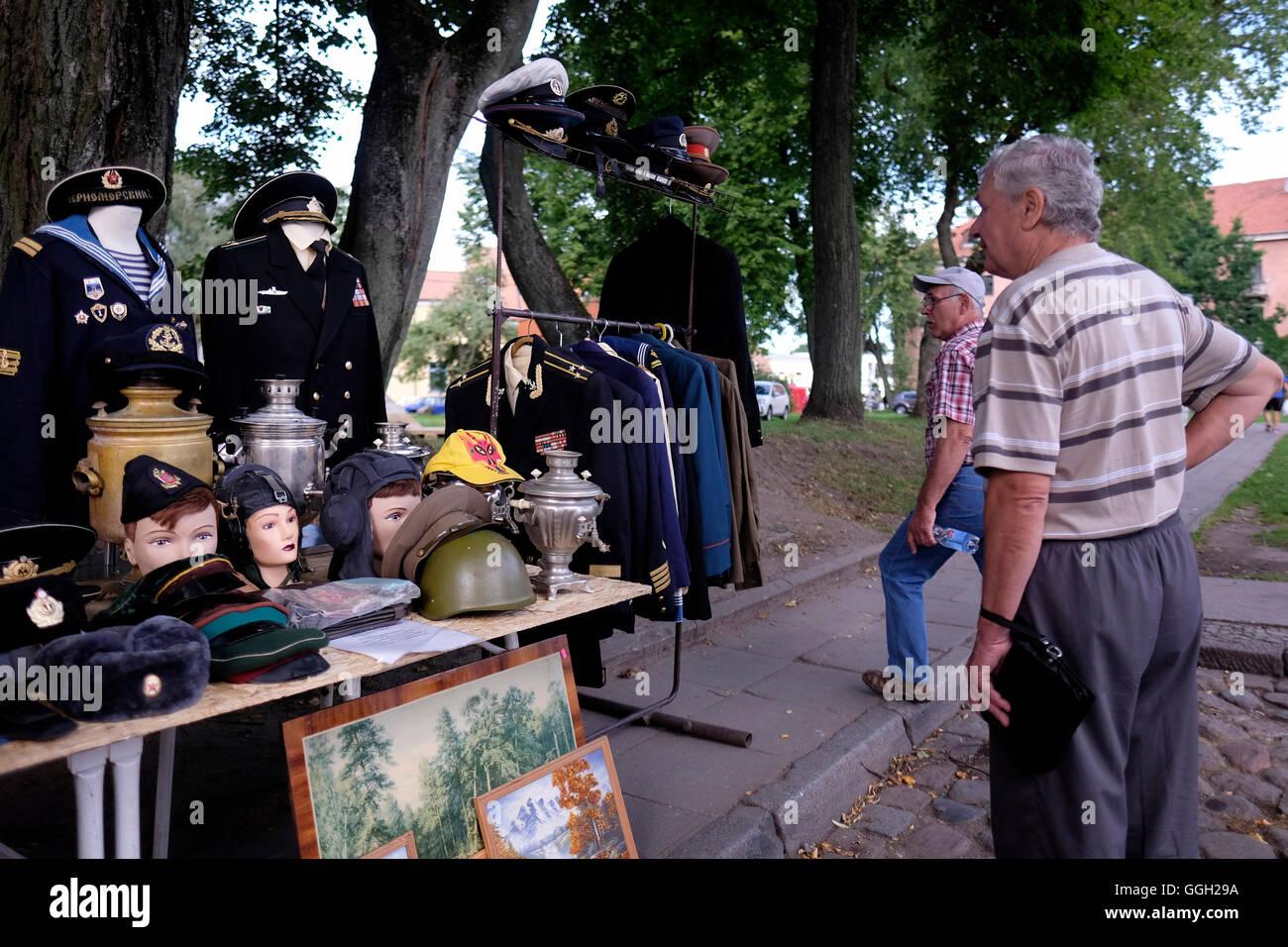 Old Town Klaipeda Stock Photos & Old Town Klaipeda Stock
