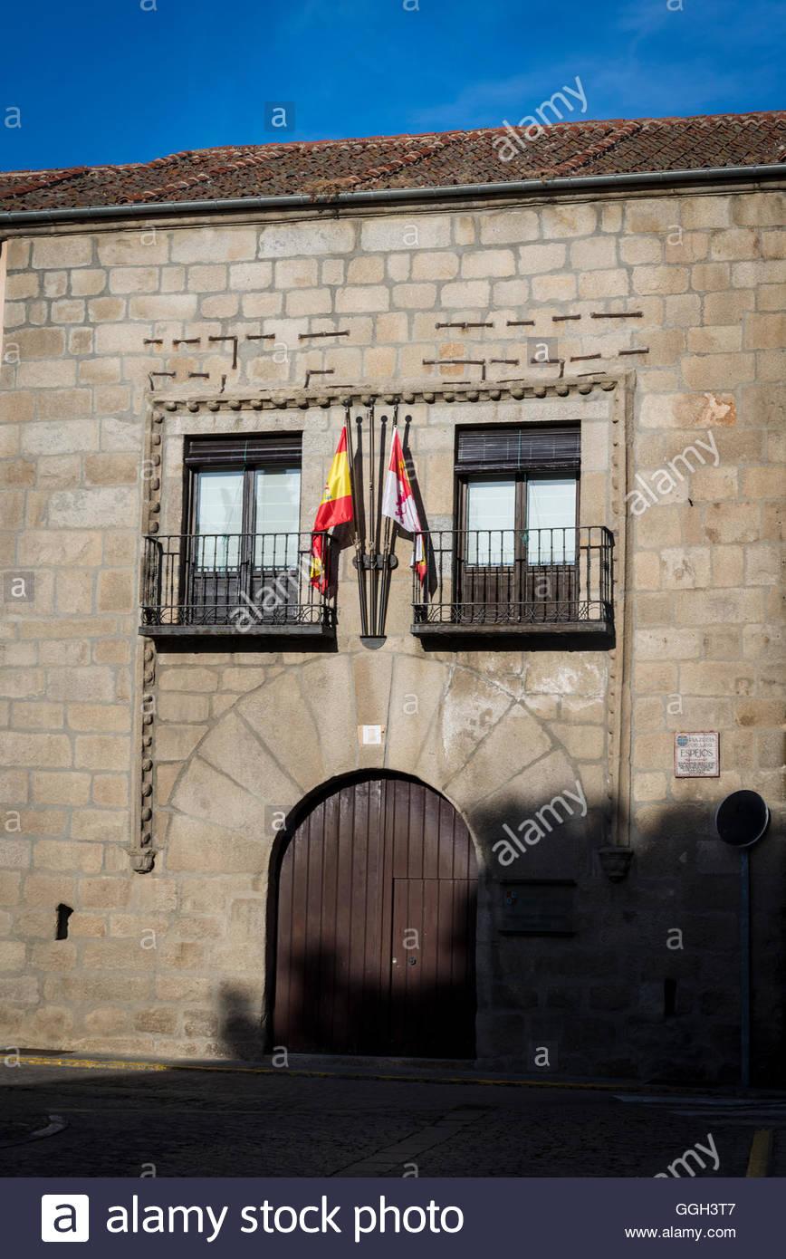 Historic building, Segovia, Castilla y Leon, Spain - Stock Image