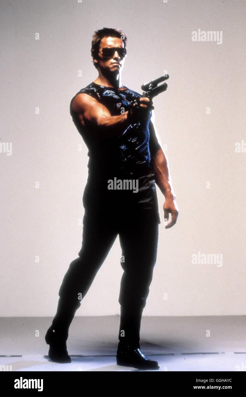 TERMINATOR / The Terminator USA 1984 / James Cameron Szene mit ARNOLD SCHWARZENEGGER (T-800). Regie: James Cameron - Stock Image