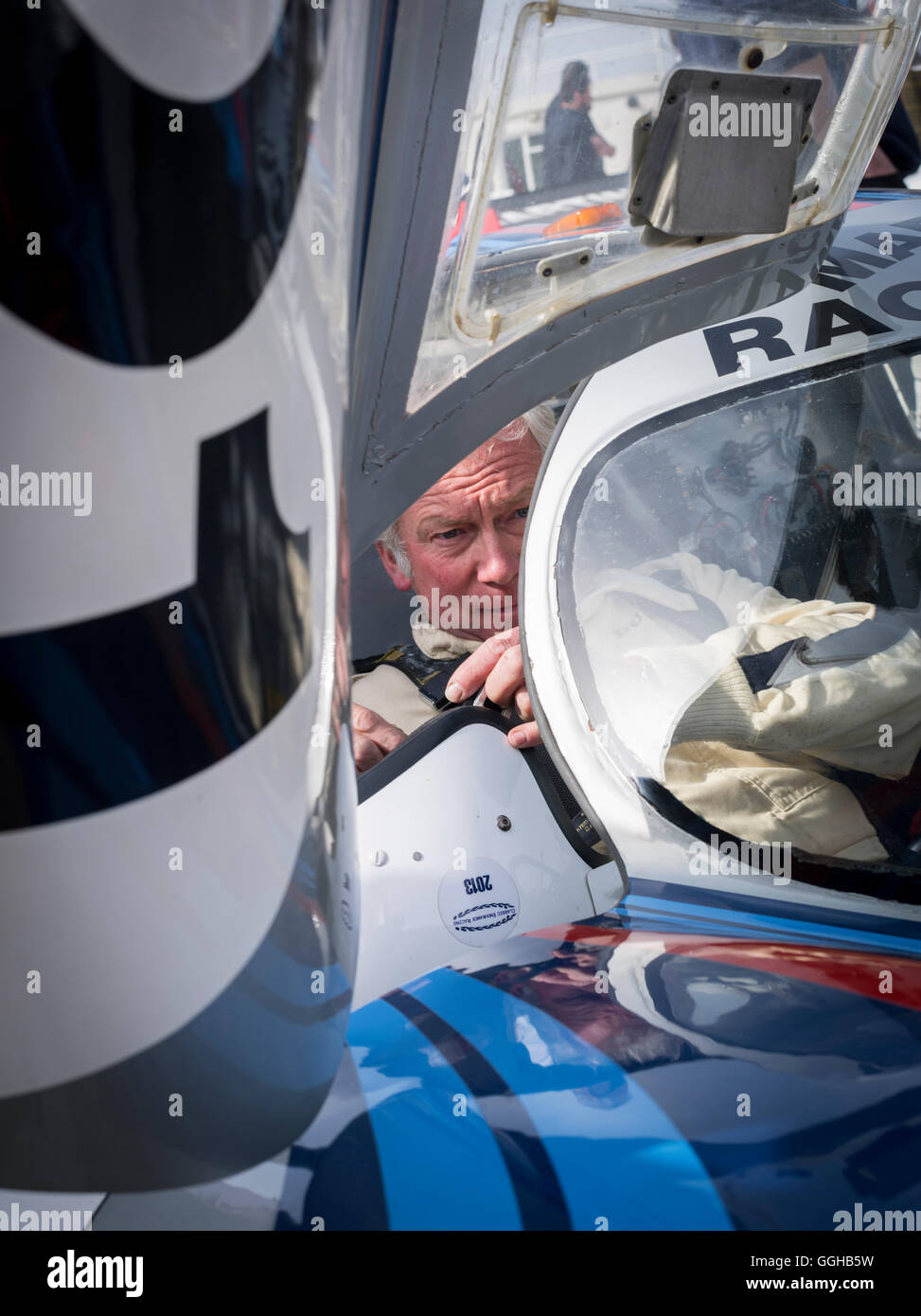 Porsche 917 LH, 72nd Members Meeting, racing, car racing, classic car, Chichester, Sussex, United Kingdom, Great - Stock Image
