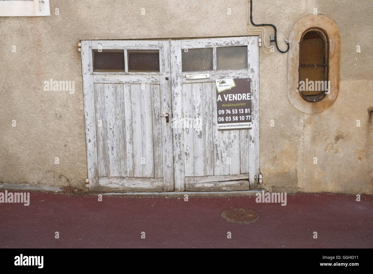 old character french architecture - Stock Image