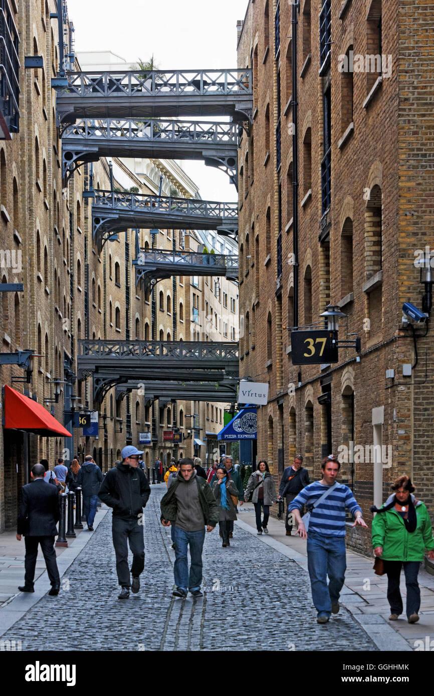 Butler's Wharf, Southwark, London, England, United Kingdom - Stock Image