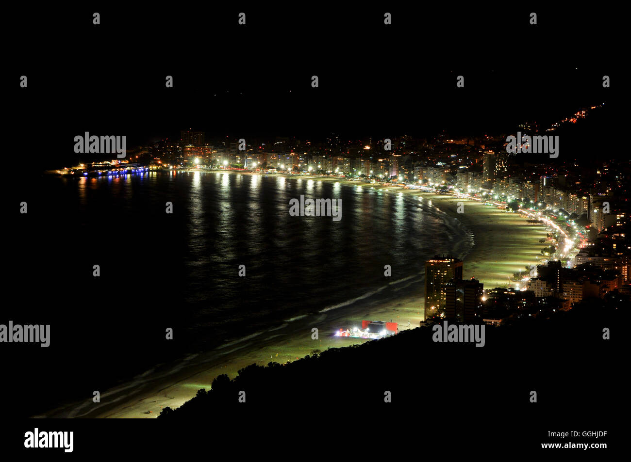 Rio de Janeiro. 28th November, 2015. View from Sugarloaf Mountain. © Nigel Pacquette/Alamy Stock News Stock Photo