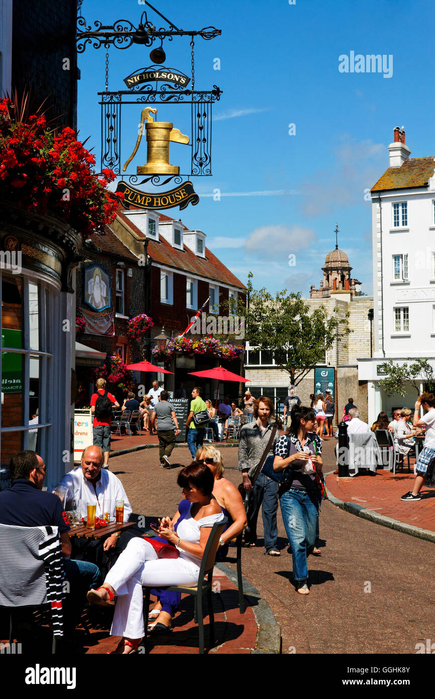 The Pump House, Market Street, The South Lanes, Brighton, East Sussex, England, Great Britain - Stock Image