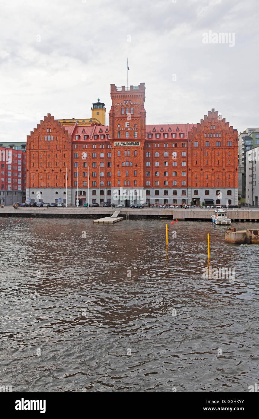 Elite Hotel Marina Tower, Nacka, Stockholm, Sweden - Stock Image