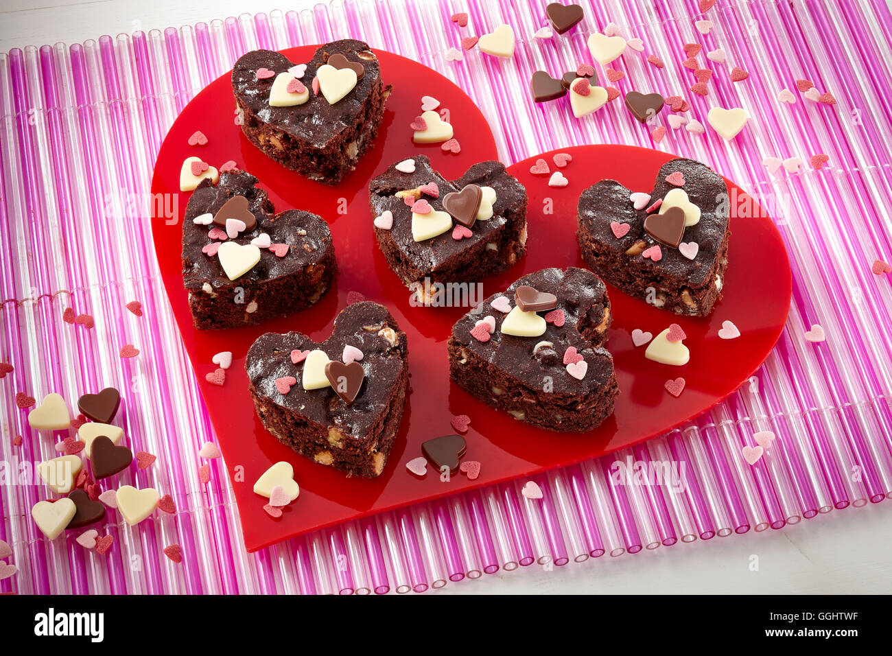 Aphrodite brownies - Stock Image