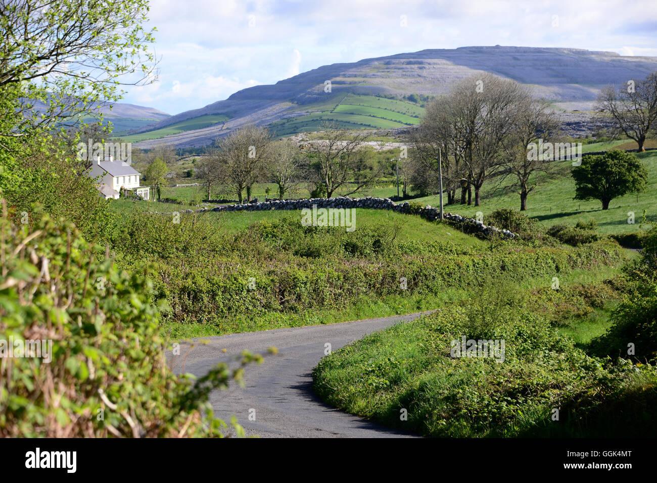 Ballyvaughan Bay, Clare, West Coast, Ireland - Stock Image