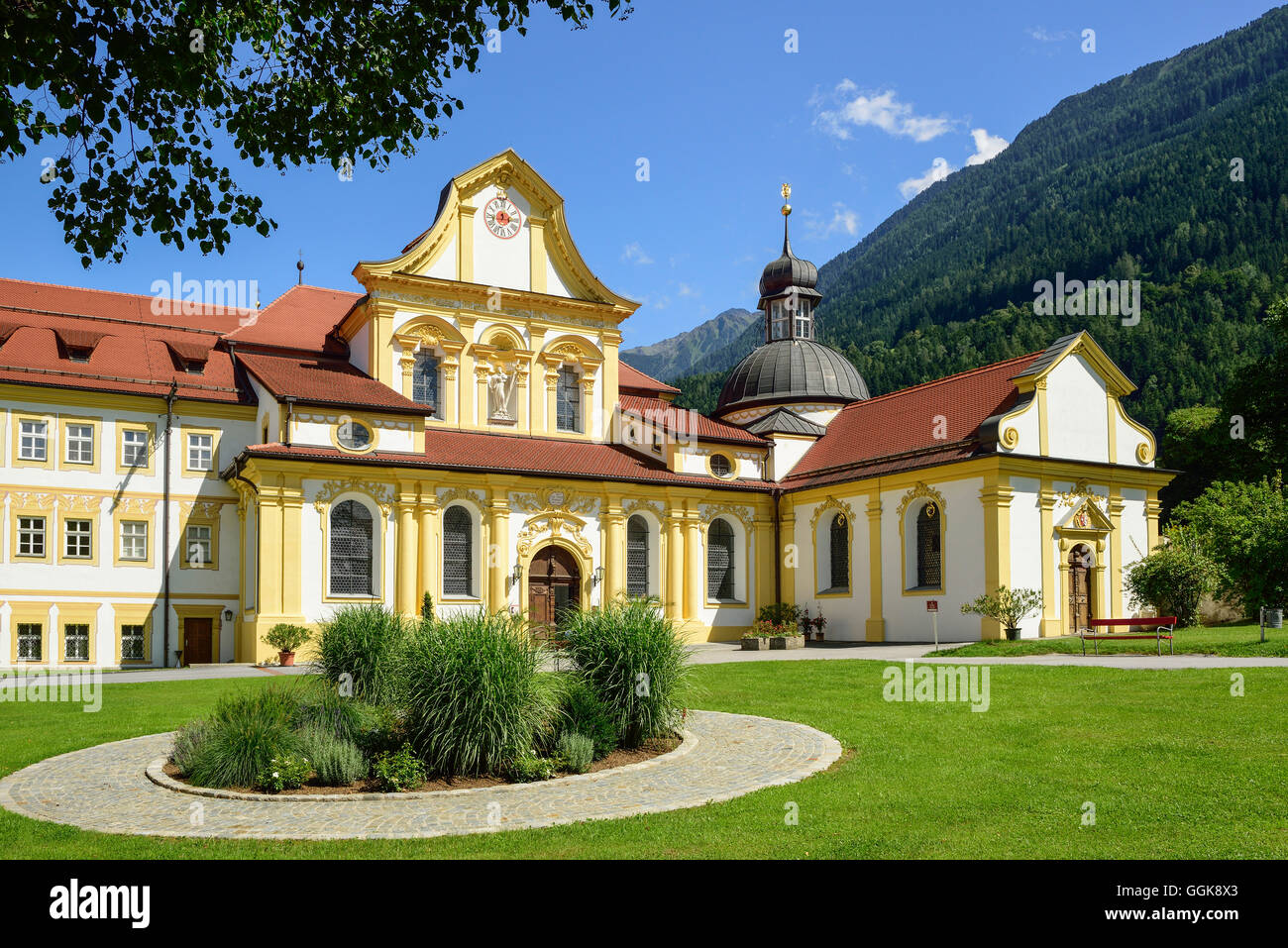 Monastery Stams, Stams, Tyrol, Austria Stock Photo