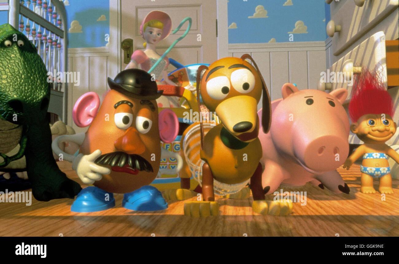 TOY STORY / Toy Story USA 1995 / John Lasseter Walt Disney's 'Toy Story' Regie: John Lasseter aka. Toy - Stock Image