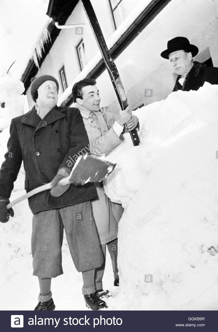 Drei Männer Im Schnee Drei Männer Im Schnee Aut 1955 Kurt Stock
