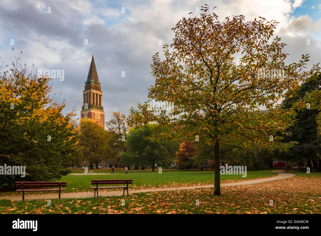 Kleiner Kiel, Kiel, Schleswig-Holstein, Germany - Stock Image