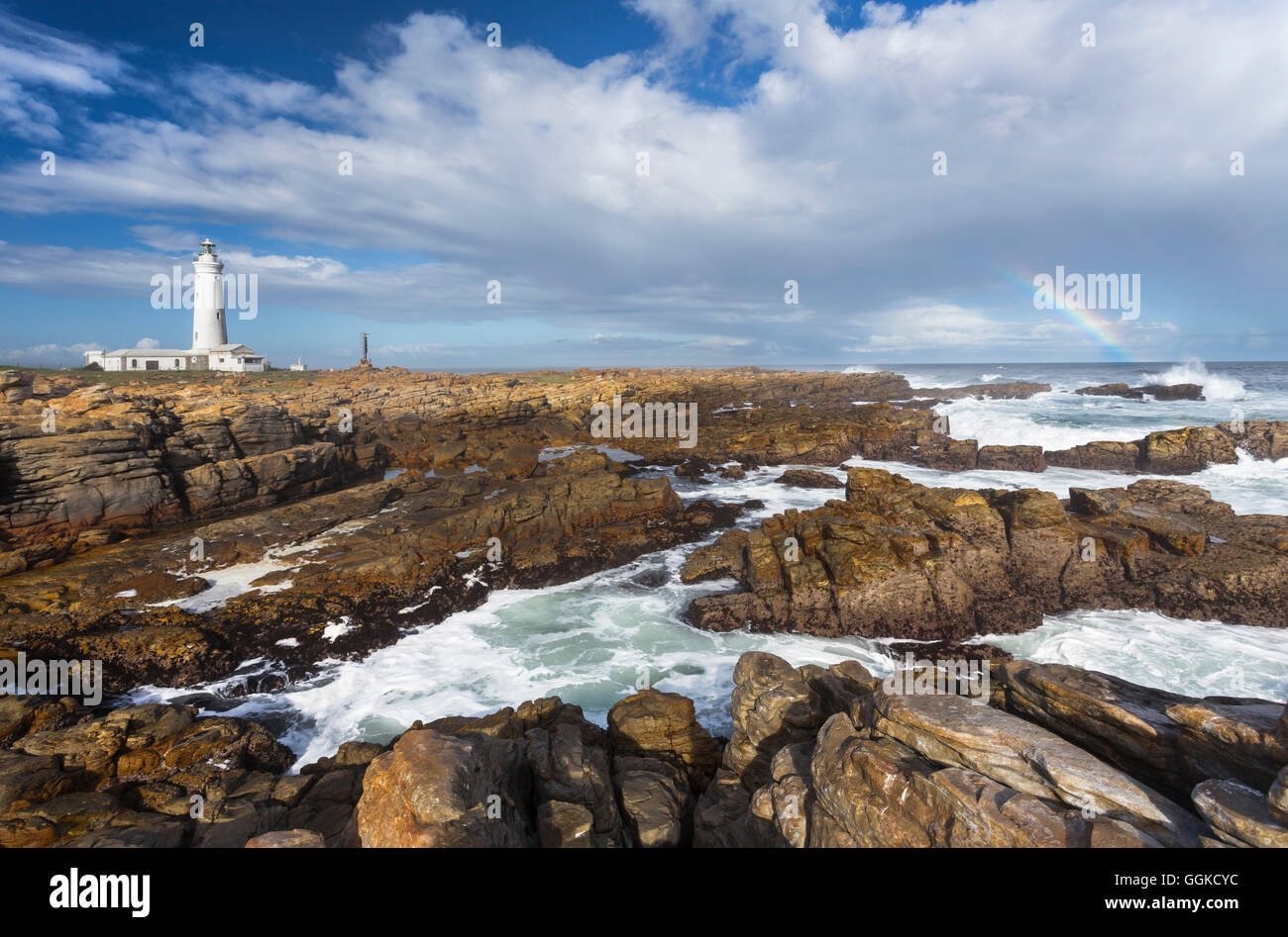 Cape St Francis, St Francis Bay, Indian Ocean, Eastern Cape, Südafrika - Stock Image
