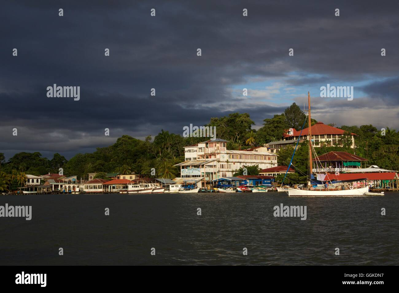 Livingston, Guatemala, South America - Stock Image