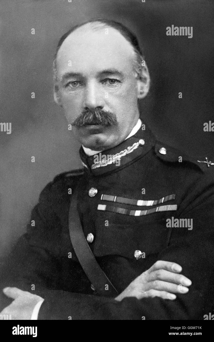 General Henry Seymour Rawlinson, 1st Baron Rawlinson (Sir Henry Rawlinson: 1864-1925), a British First World War - Stock Image