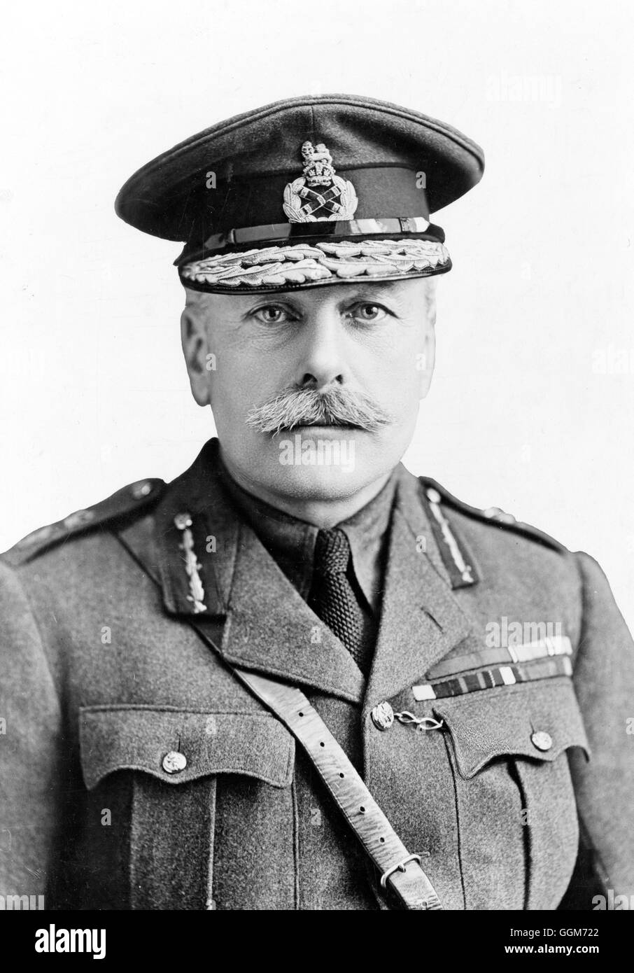 Sir Douglas Haig. Portrait of Field Marshal Douglas Haig, 1st Earl Haig,  (1861-1928). Photo c.1917. - Stock Image