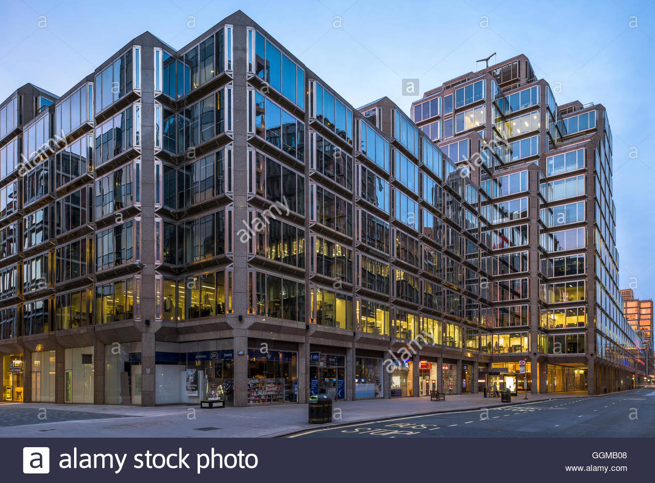 123 Victoria Street - Westminster - Stock Image