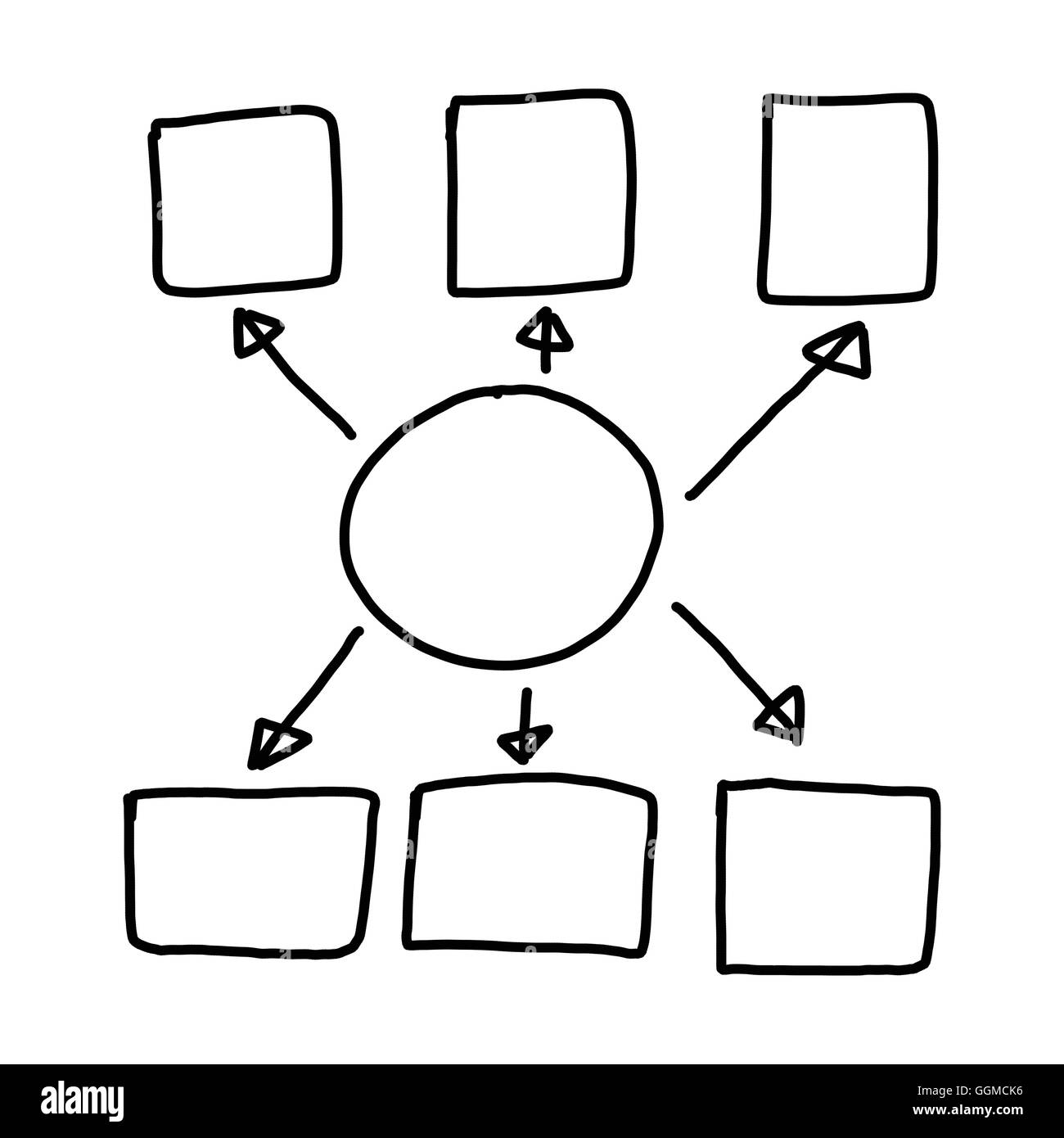 Hand drawn a graphics symbols geometric shapes graph to input stock hand drawn a graphics symbols geometric shapes graph to input information concept of profit in business or system management on ccuart Gallery