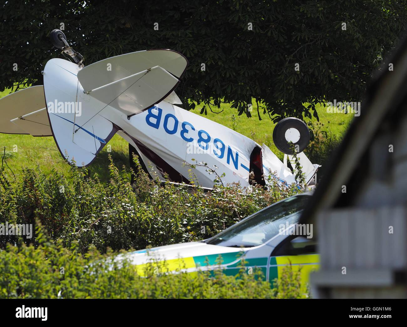 Private plane crash of a Piper Tri-Pacer PA-22-150 plane