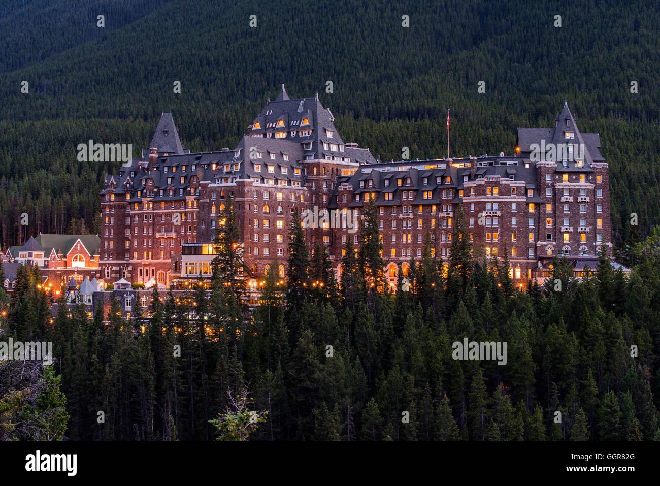Fairmont Hotel Lake Louise Banff Canada