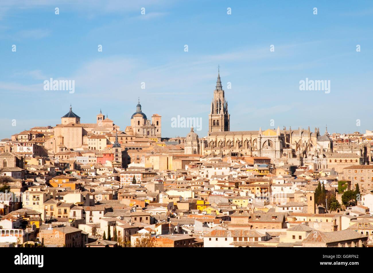Overview. Toledo, Spain. - Stock Image