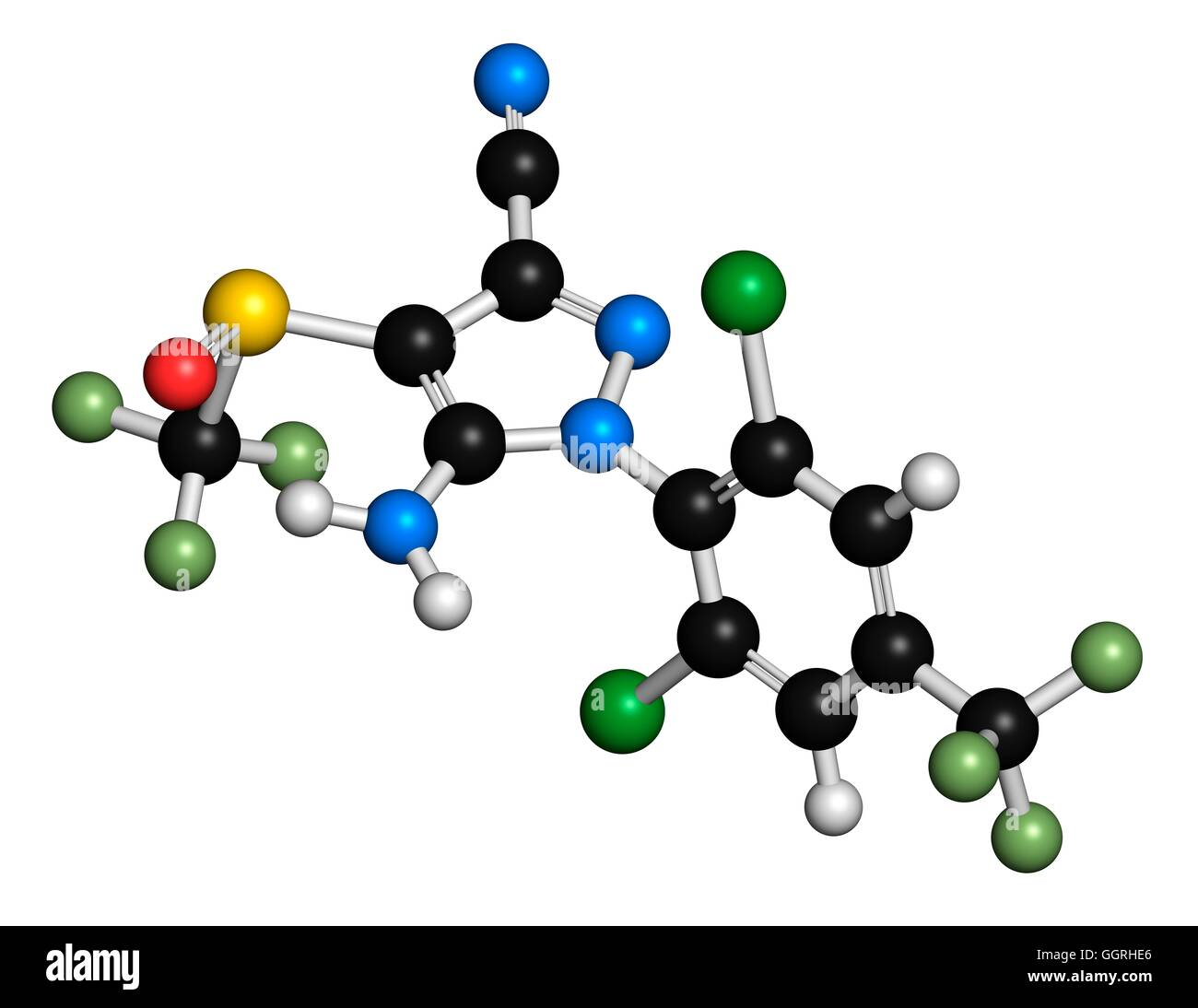 Fipronil insecticide molecular model atoms are represented as fipronil insecticide molecular model atoms are represented as spheres with conventional colour coding hydrogen white carbon black oxygen red ccuart Choice Image
