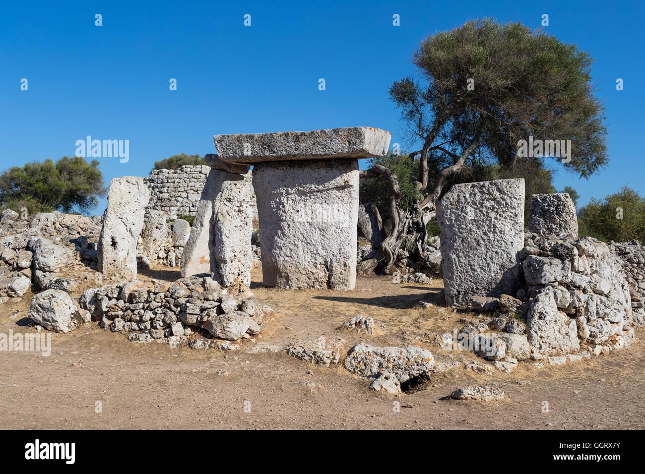 Prehistoric dolmen - Stock Image