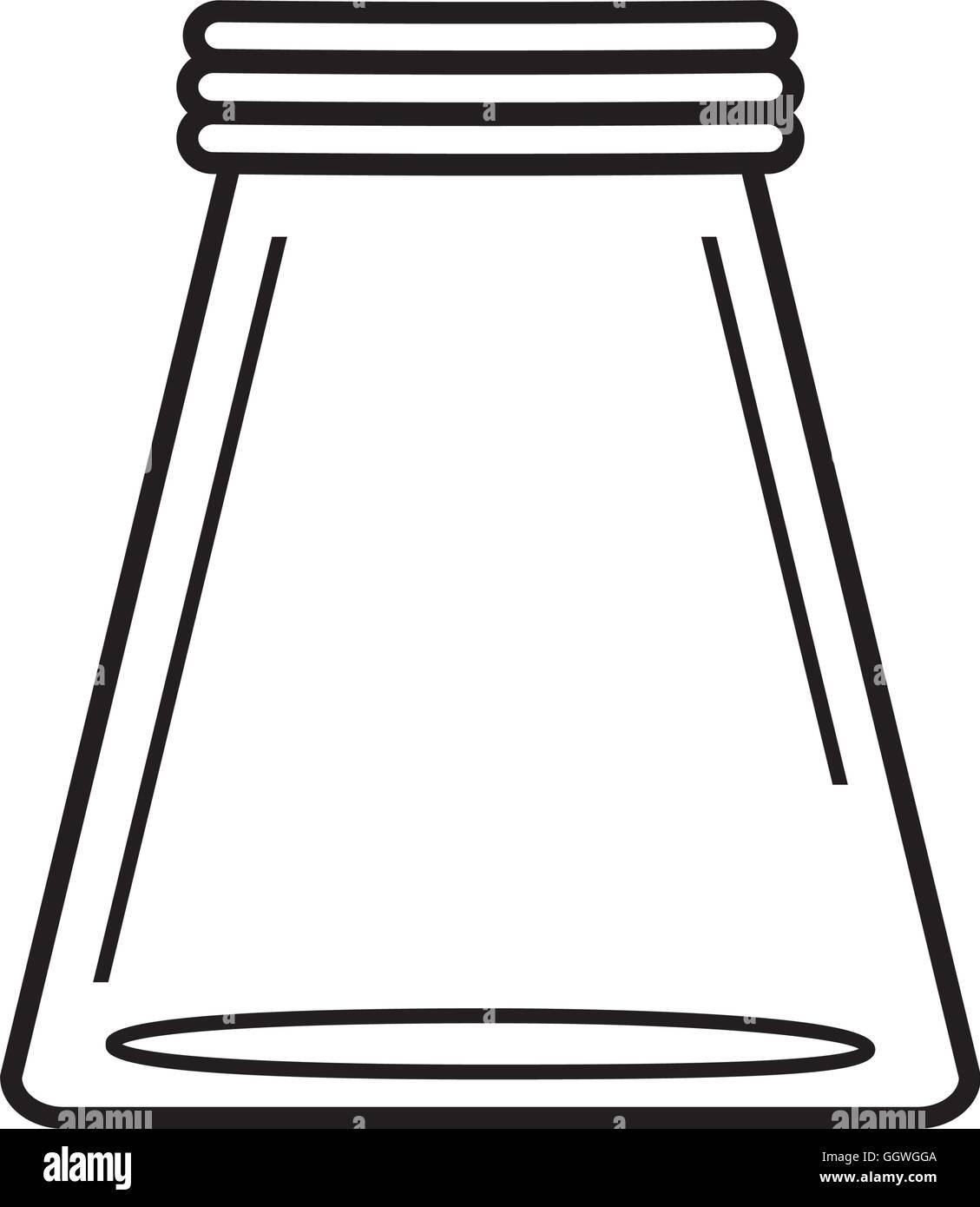 Mason Jar Glass Rustic Can Icon Vector Graphic Stock Vector Art