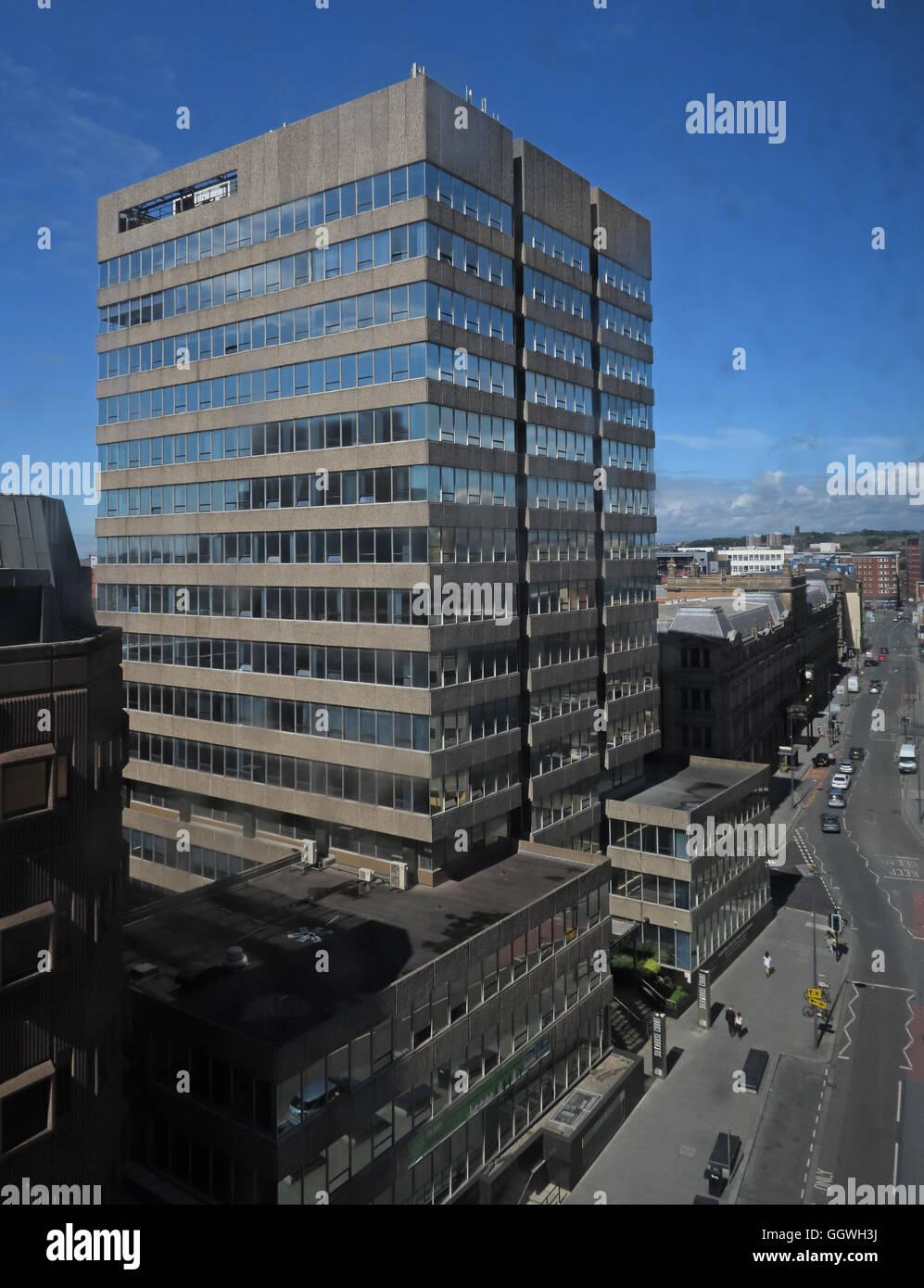 Silkhouse Court Office Block, Tithebarn St, Liverpool L2 2QW - Stock Image