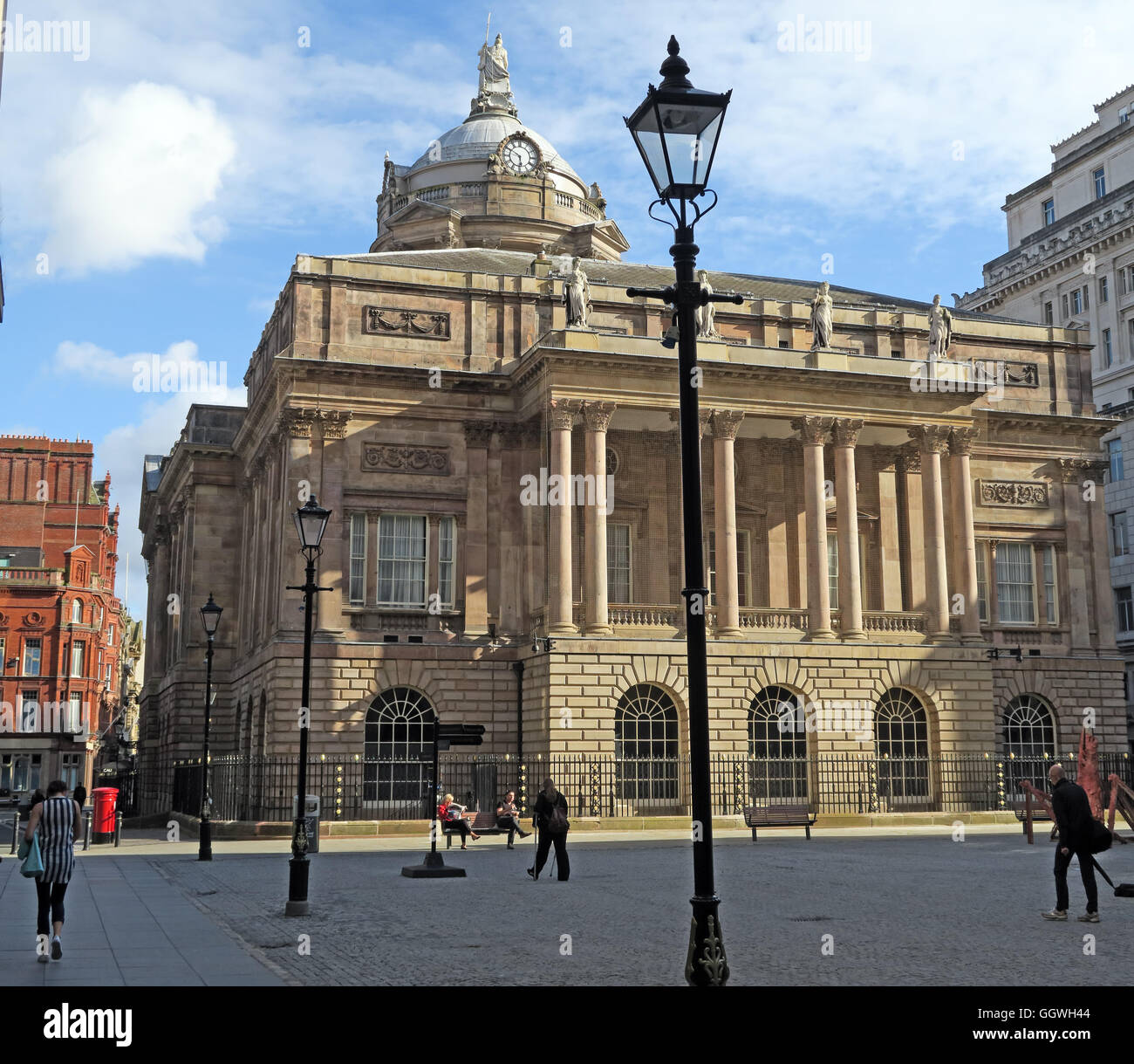 Liverpool Town Hall, Dale St,Merseyside,England,UK - Stock Image