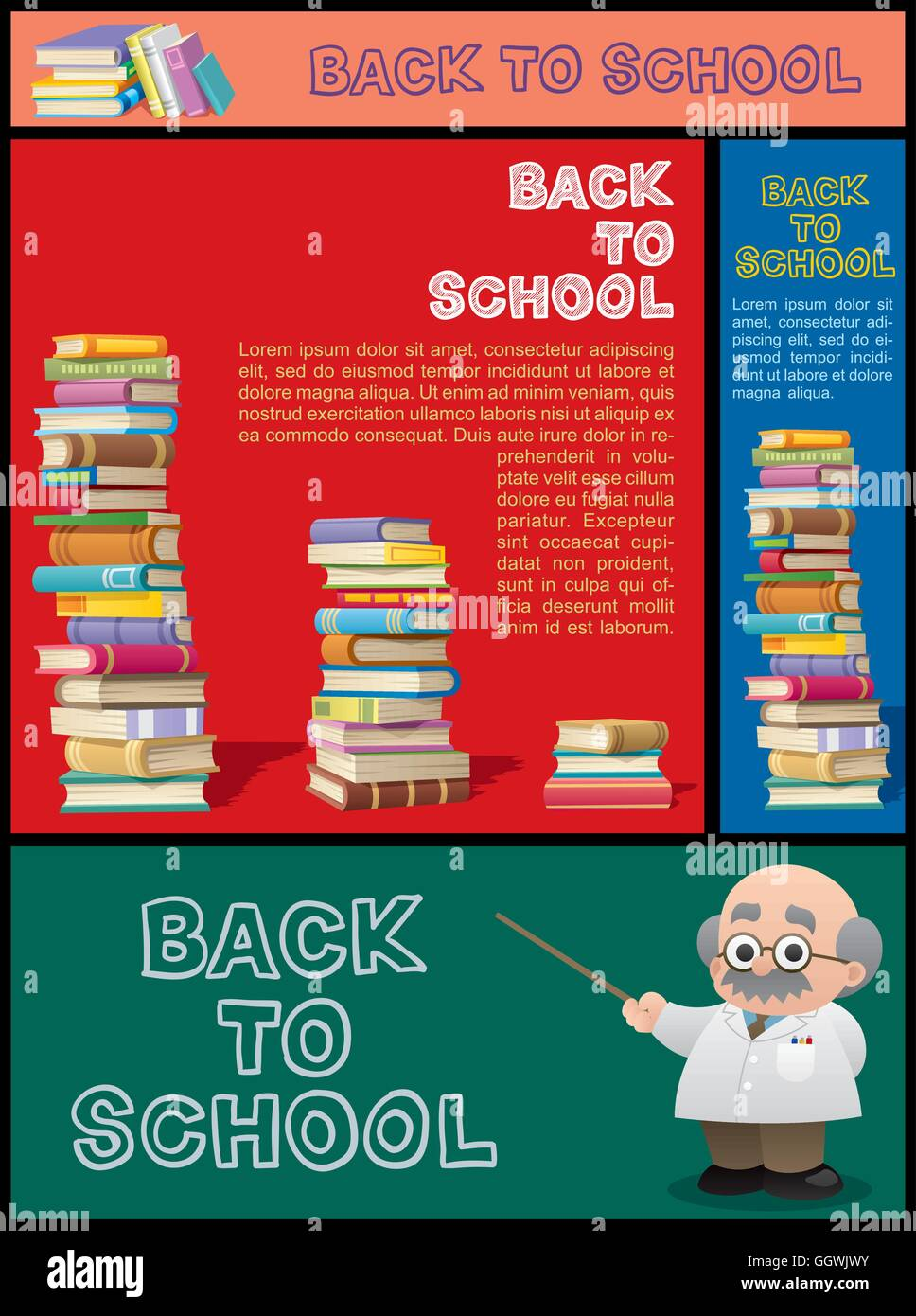 School Library Banners Home Tuition Banners