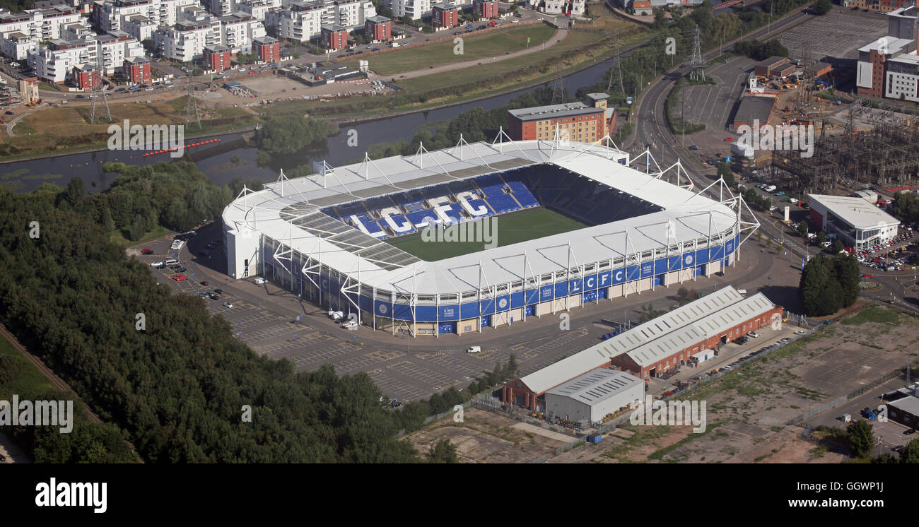 aerial view of Leicester City King Power Stadium football ...