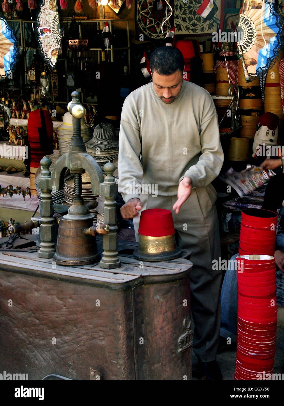 1f349b8c9 Egyptian Hats Stock Photos & Egyptian Hats Stock Images - Alamy