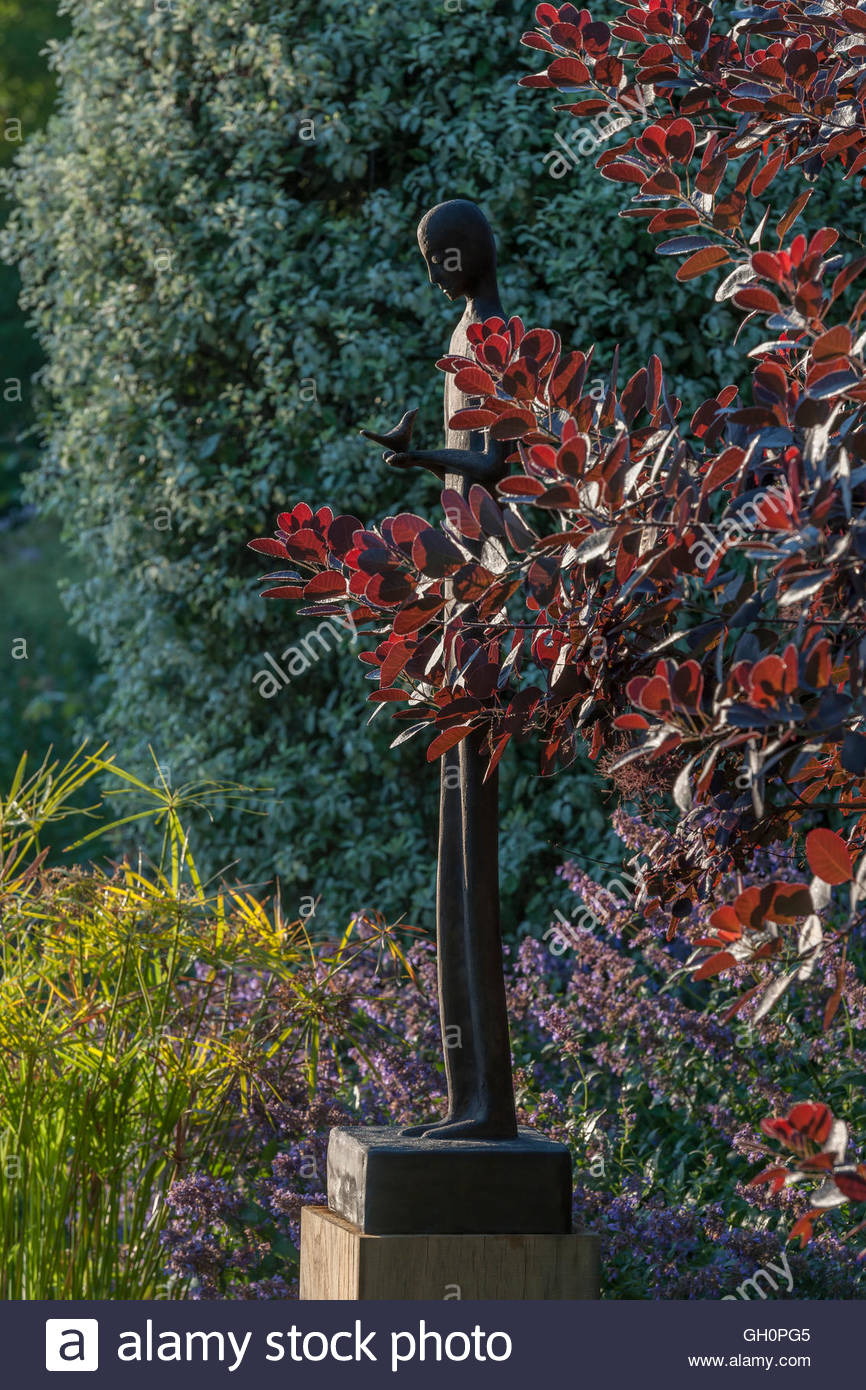 Modern Garden Sculpture