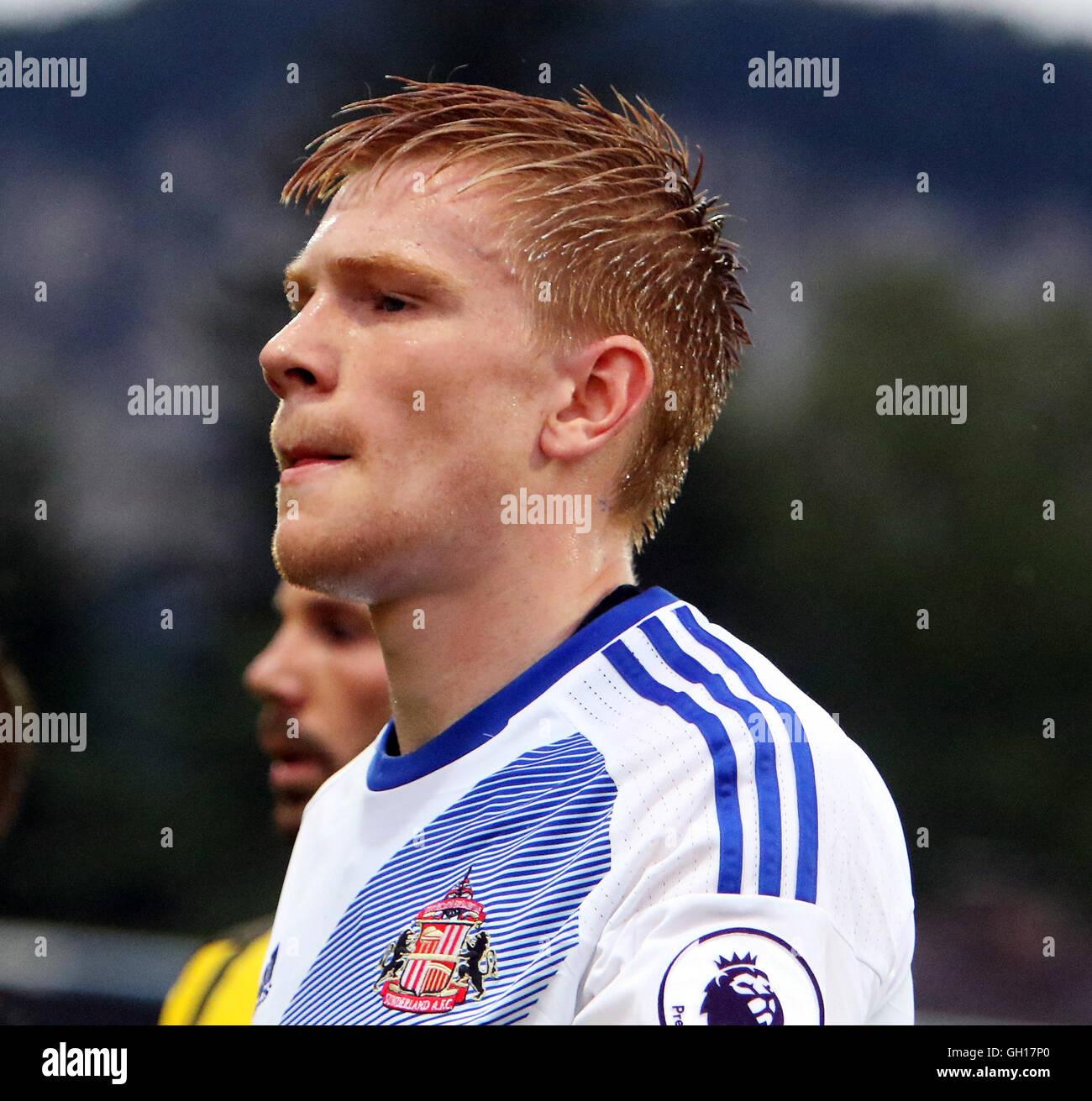 Altach, Bavaria, Germany. 5th Aug, 2016. Duncan WATMORE Sunderland), .pre season friendly.Borussia Dortmund vs Sunderland - Stock Image