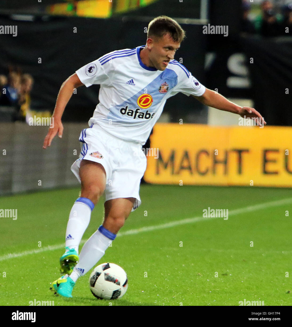 Altach, Bavaria, Germany. 5th Aug, 2016. Josh ROBSON (Sunderland).pre season friendly.Borussia Dortmund vs Sunderland - Stock Image
