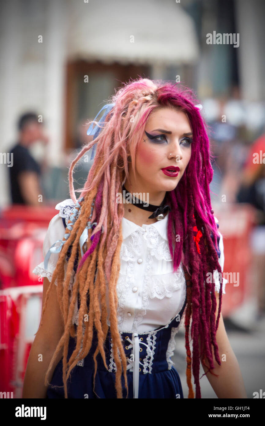 A Punk Rock Rebel Rebelling Rebellion Blackpool Festival Spike