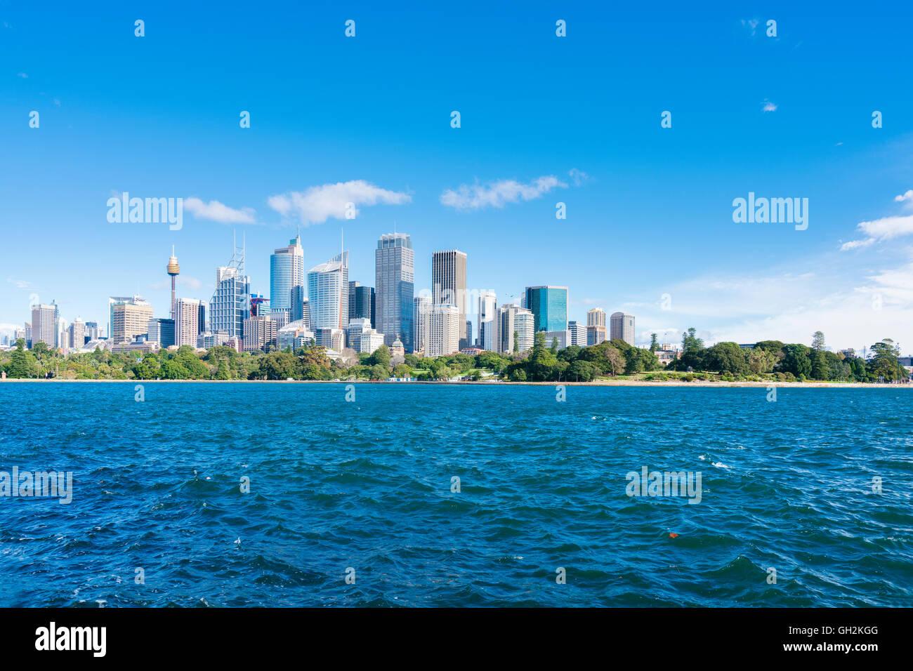 Sydney CBD in daytime Stock Photo
