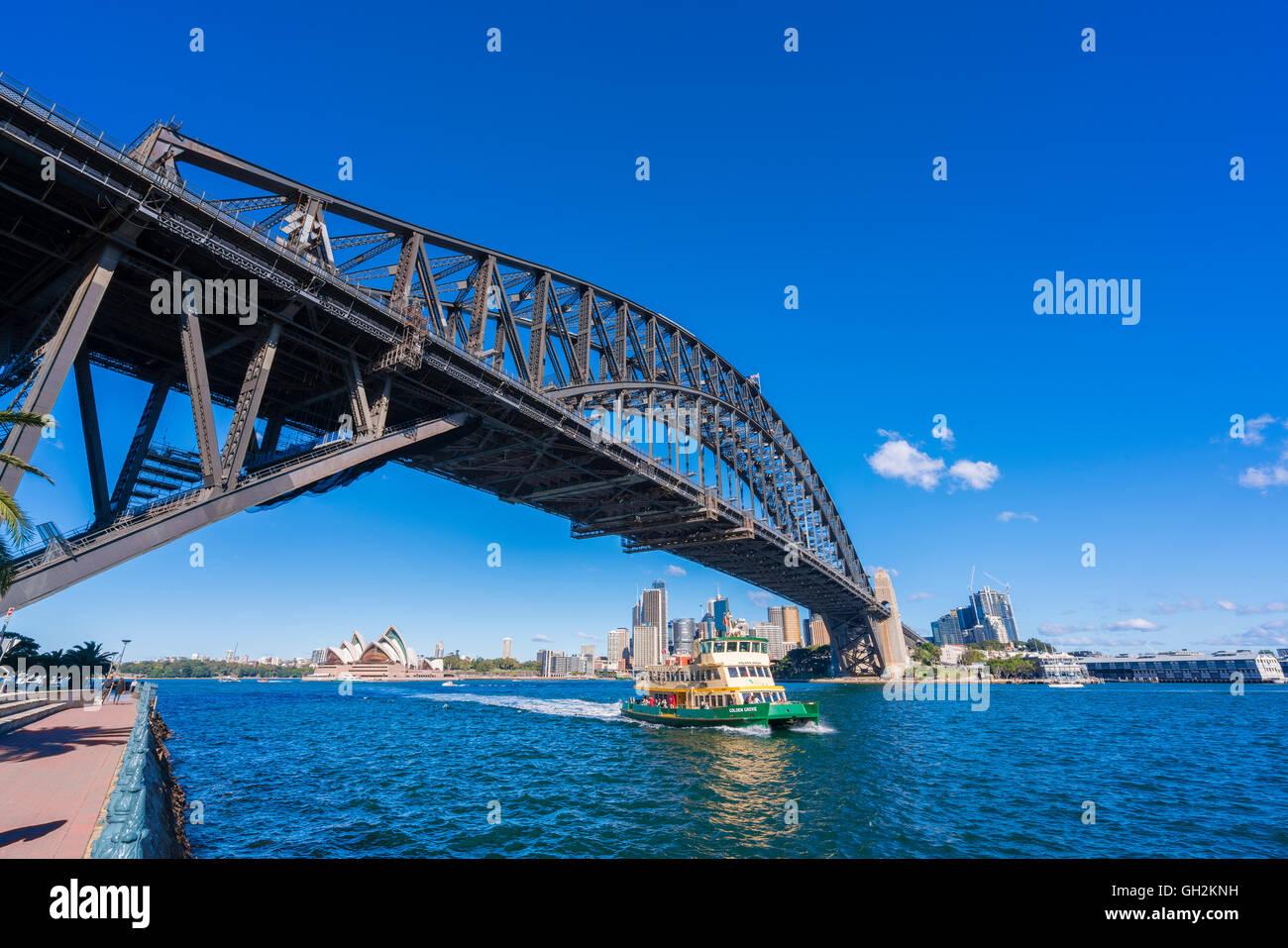Sydney CBD in daytime - Stock Image
