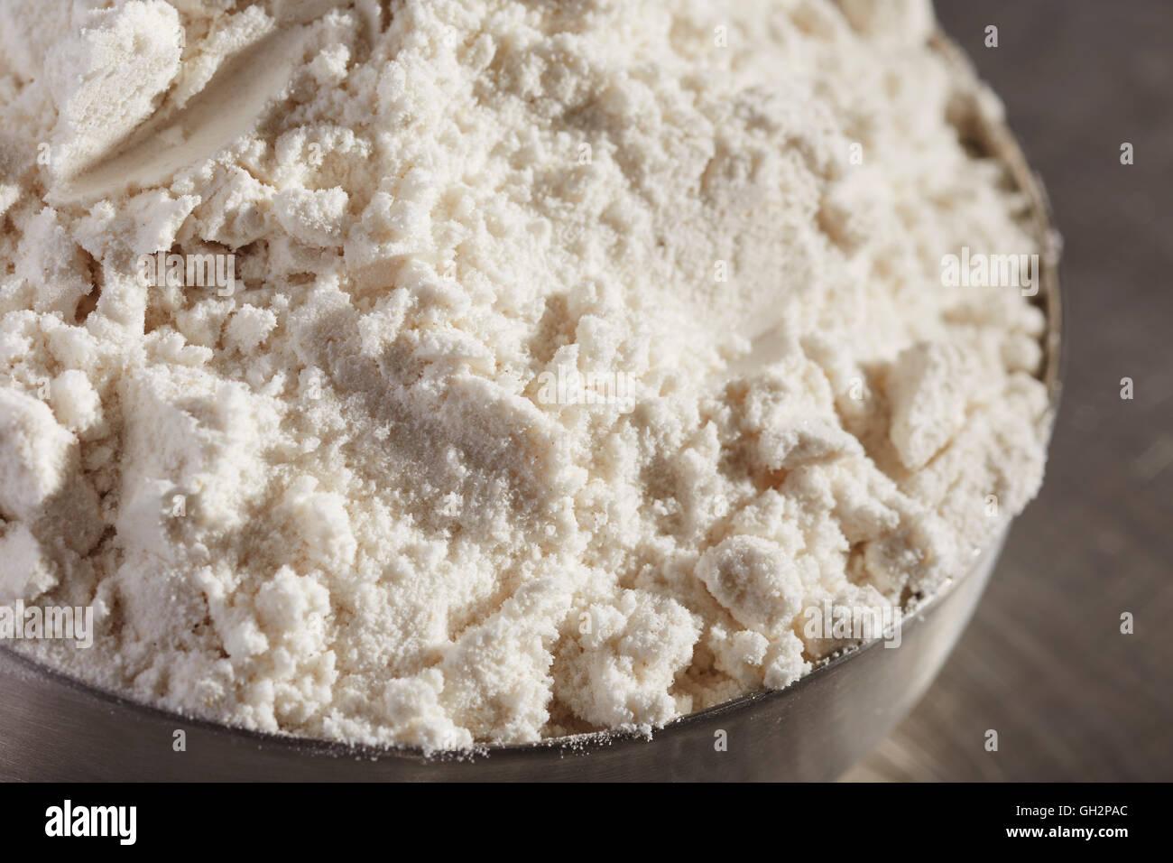 gluten-free flour substitute - Stock Image