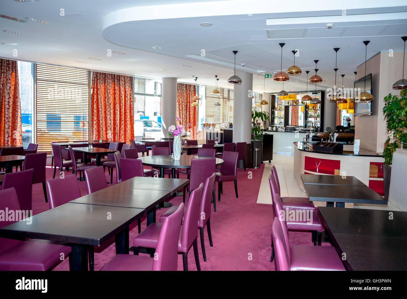 Intercontinental hotel interior restaurant stock photos intercontinental hotel interior - Porte de clichy restaurant ...