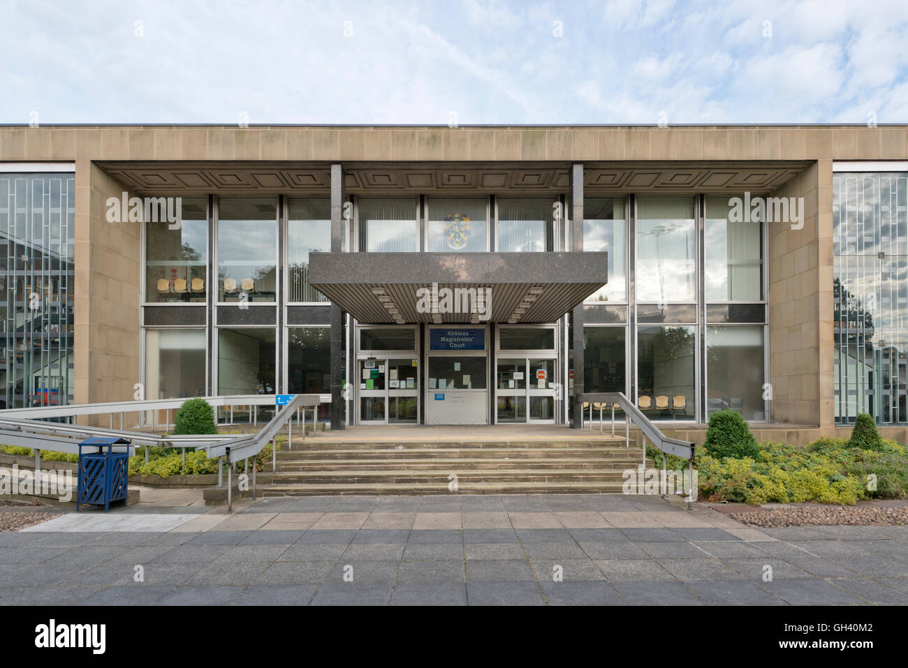 Huddersfield Magistrates Court located in Kirklees, West Yorkshire. - Stock Image