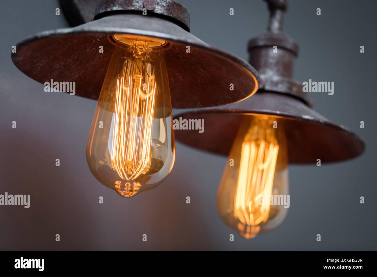 Light fitting 2 - Stock Image