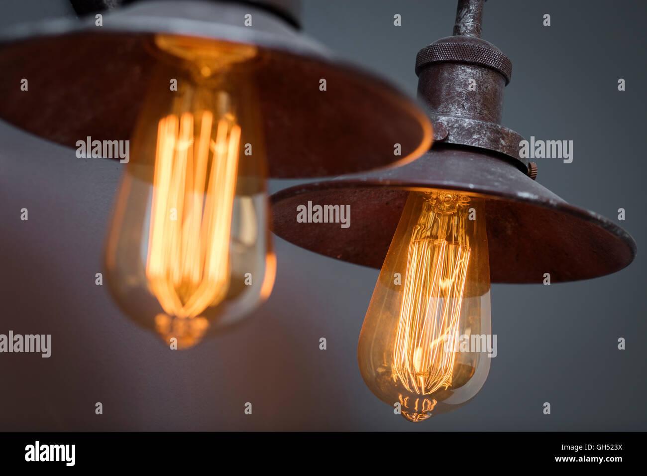 Light Fitting - Stock Image