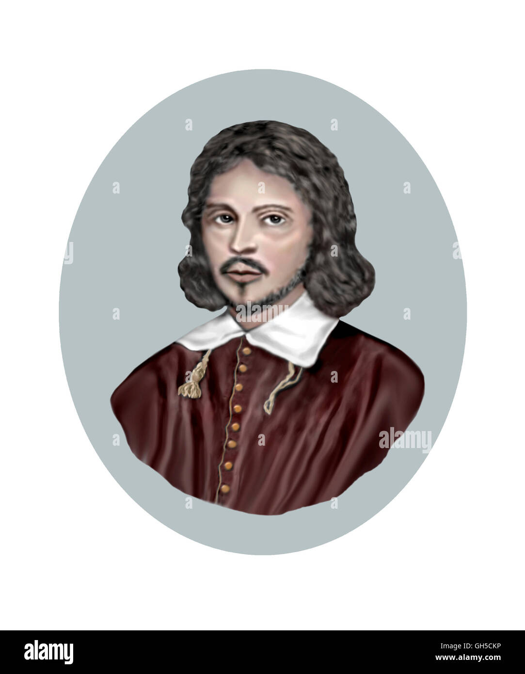 Thomas Tallis, c1505-1585, Composer - Stock Image