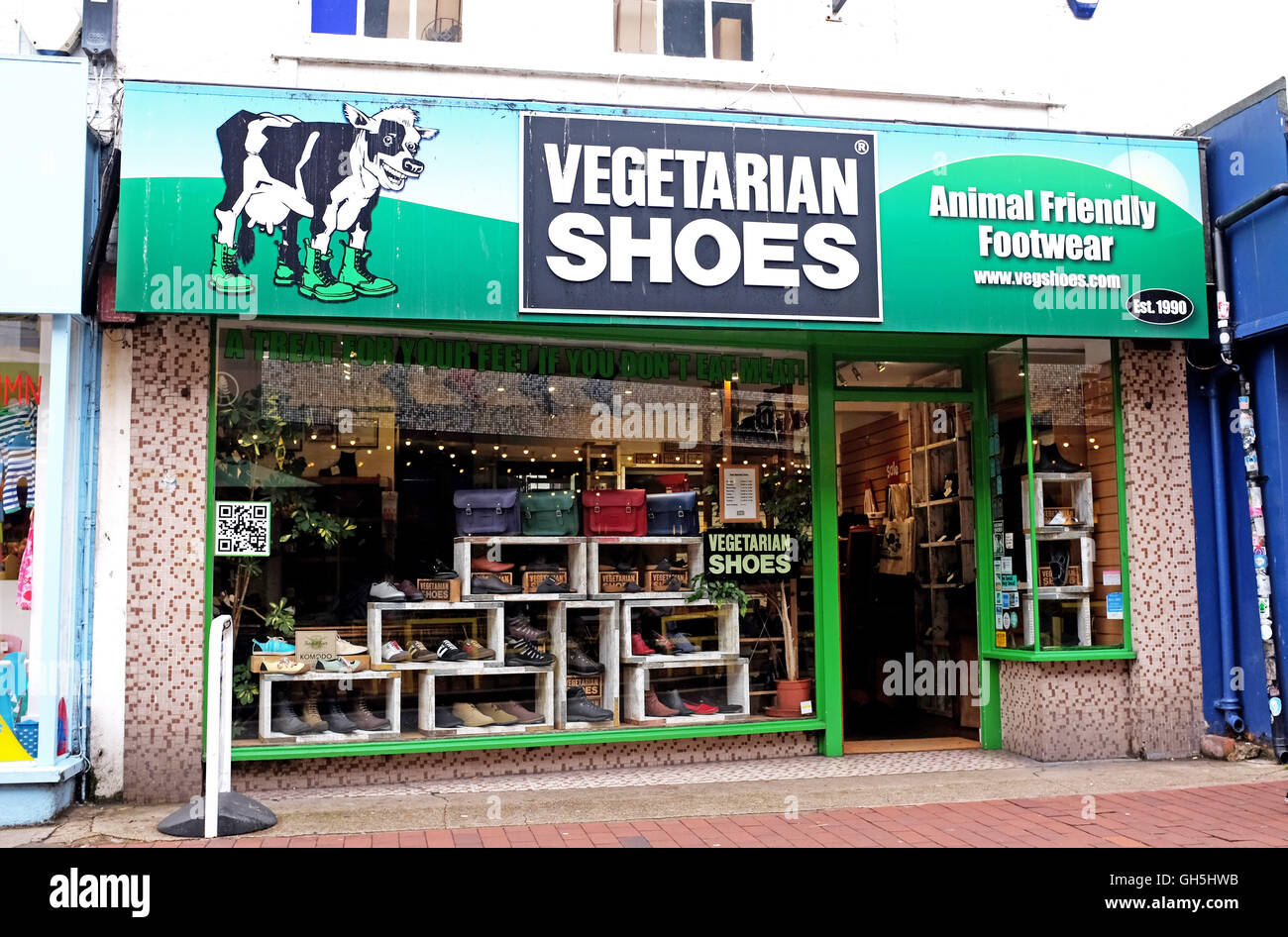 Gardner Street Brighton UK Stock Photo