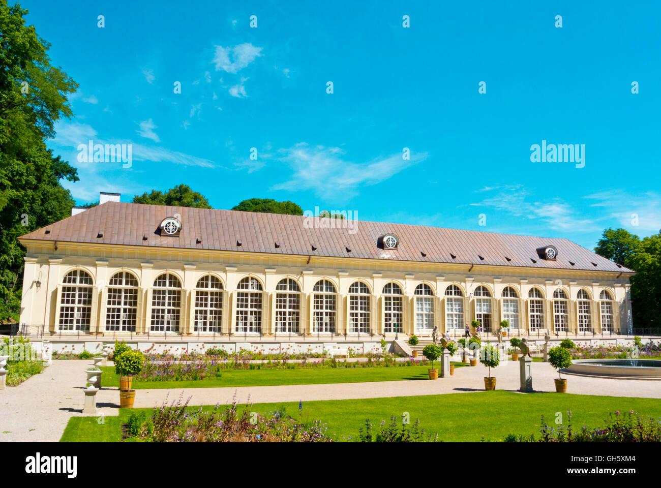 Stara Pomaranczarnia Old Orangery Building Lazienki