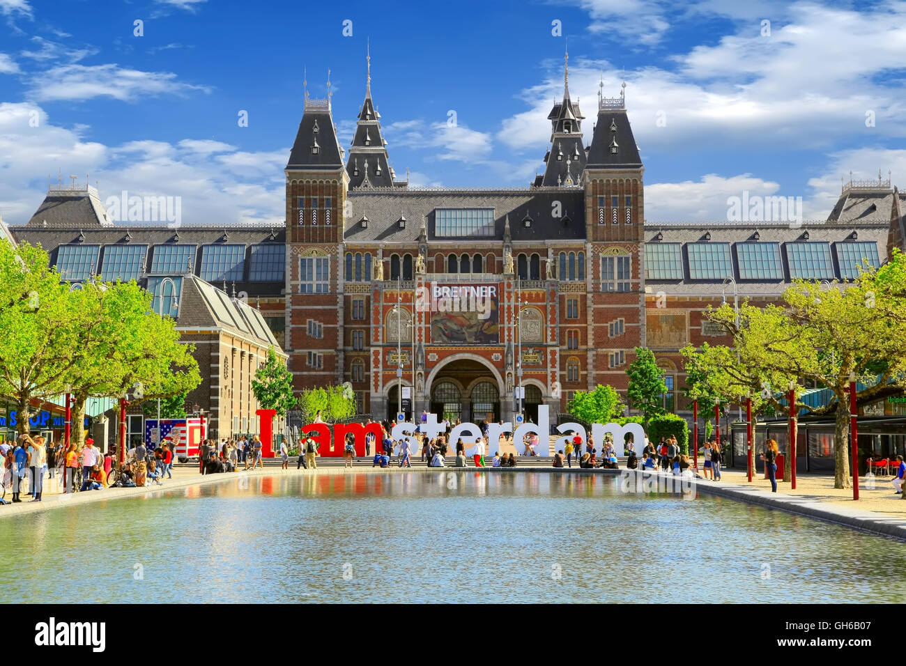 Rijksmuseum stock photos rijksmuseum stock images alamy for Museum amsterdam